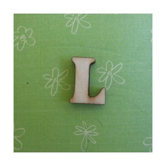 Letra L - MDF