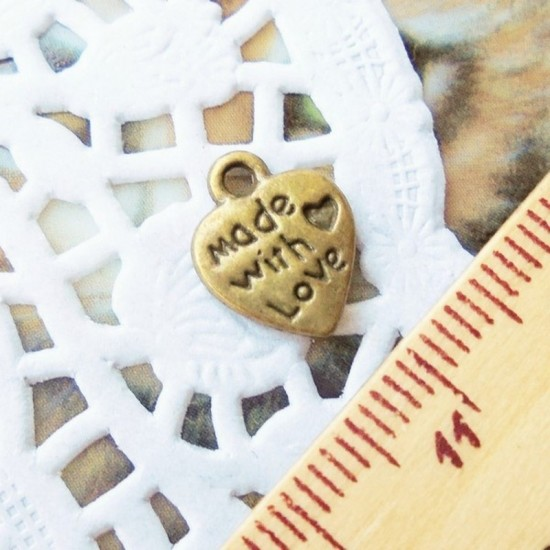 Pendente Made With Love -...