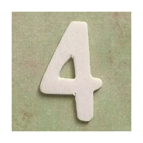 Número 4 - MDF
