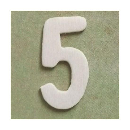 Número 5 - MDF