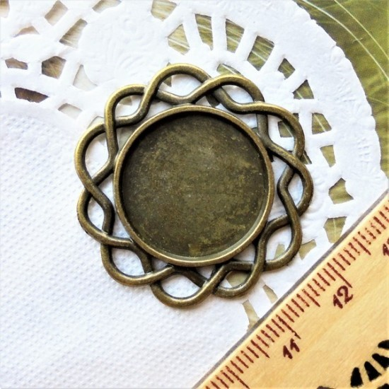Base Cabochon 20mm - A6132OV