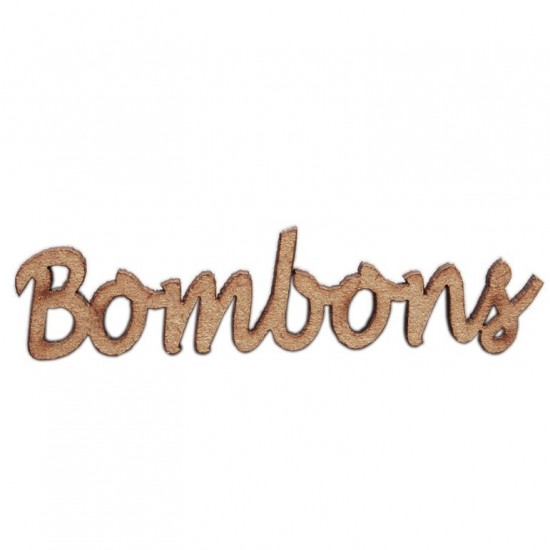 Mdf Bombons - A7338