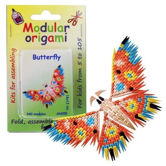 Kit Origami Borboleta