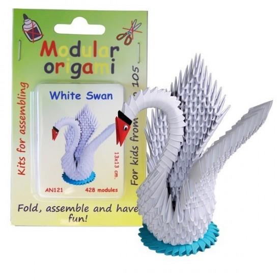 Kit Origami Cisne