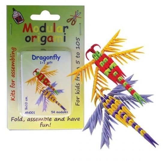 Kit Origami Libelinha