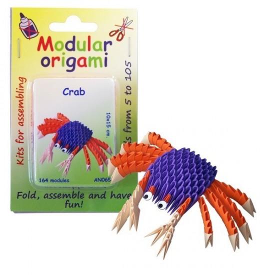 Kit Origami Caranguejo