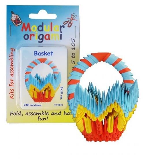 Kit Origami Cesto