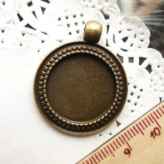 Base Cabochon 20mm - A2144OV
