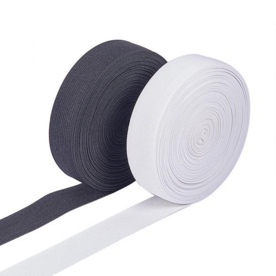 Elástico Branco 25mm - B1914