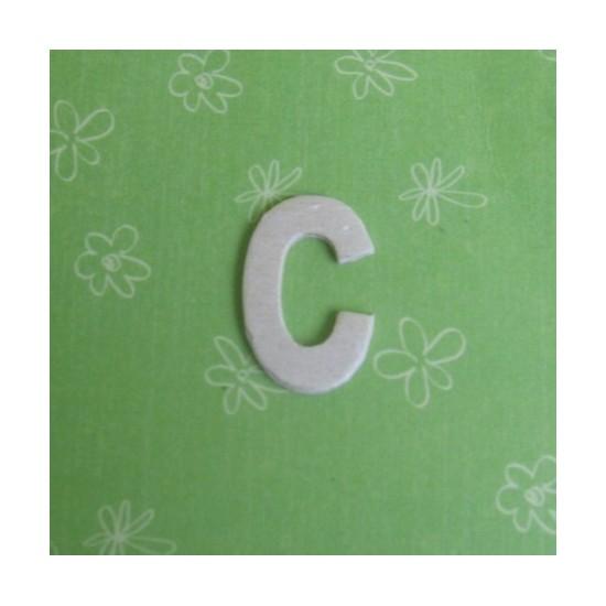 Letra C - MDF