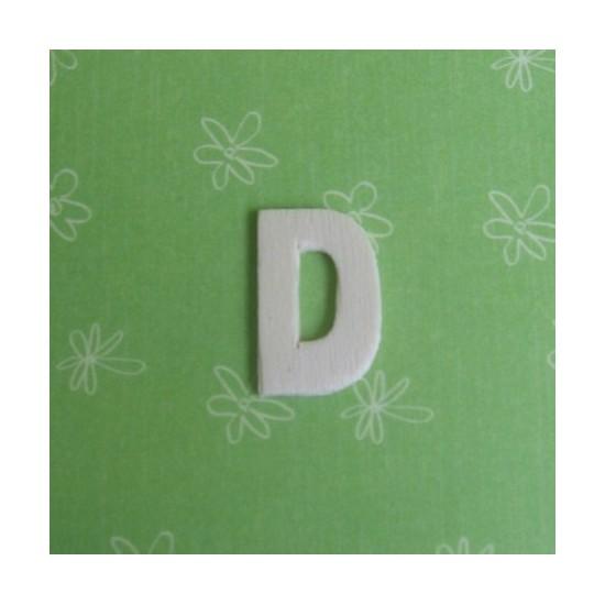 Letra D - MDF