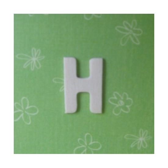 Letra H - MDF