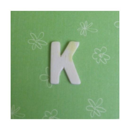 Letra K - MDF