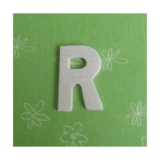Letra R - MDF