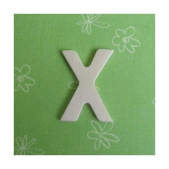 Letra X - MDF