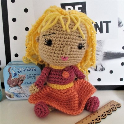 Bonecos em Crochet
